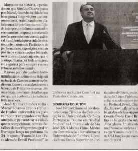 Noticia Lançamento Diário de Macaé