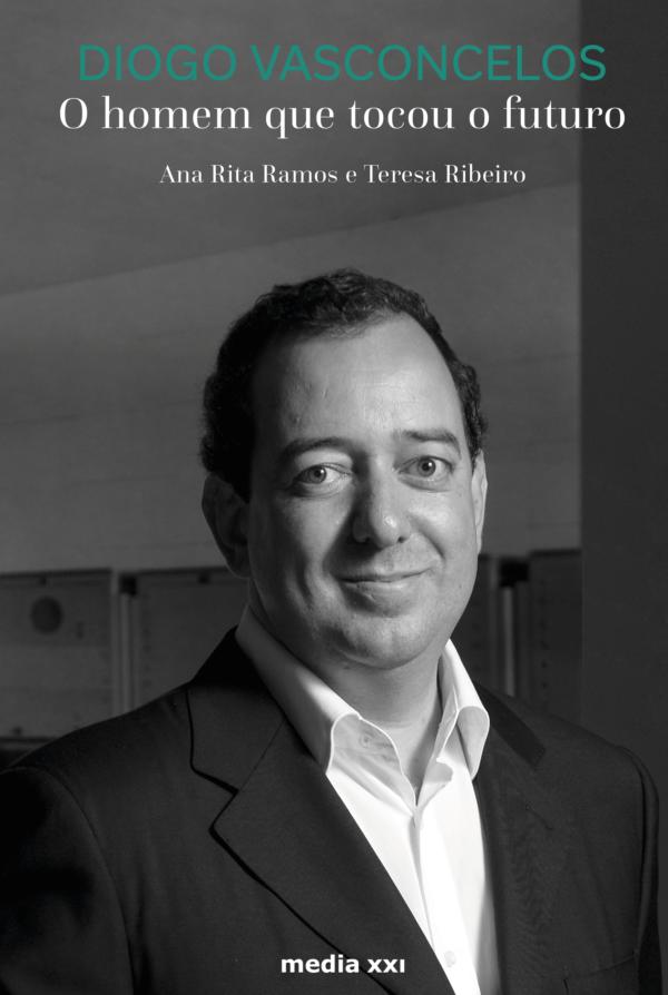 Capa da biografia de Diogo Vasconcelos